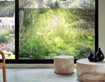 Fensterfolie - Sichtschutz Fenster Traumzauberwald - Fensterbilder