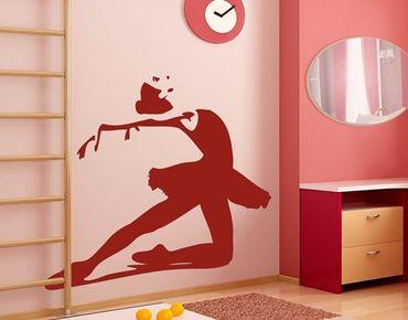 Wandtattoo Ballett - No.JS78 Ballerina - Kinderzimmer Wandtattoo