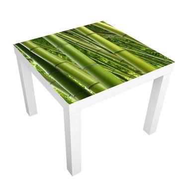 Möbelfolie für IKEA Lack - Klebefolie Bamboo Trees