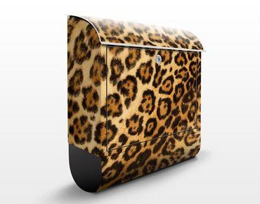 Wandbriefkasten - Jaguar Skin - Briefkasten Braun