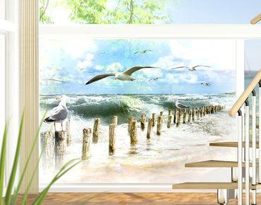 Fensterfolie - Sichtschutz Fenster No.YK3 Absolut Sylt - Fensterbilder