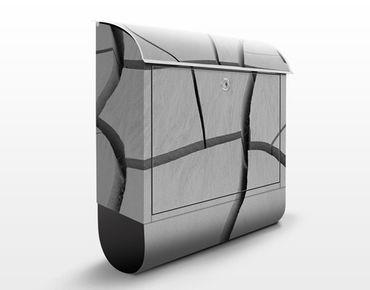 Design Briefkasten African Earth - Briefkasten Grau