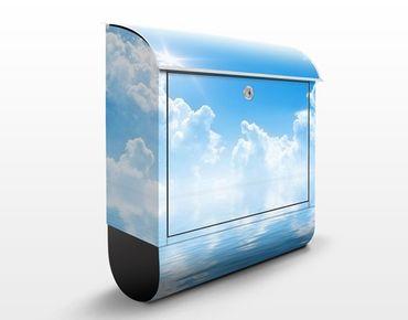 Wandbriefkasten - Above Sea Level - Briefkasten Blau