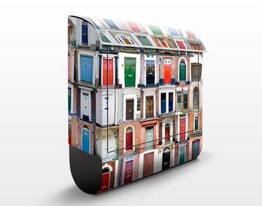 Wandbriefkasten - 100 Türen - Briefkasten Bunt
