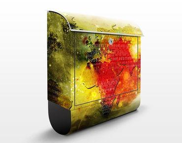 Wandbriefkasten - Worldcode - Briefkasten Rot