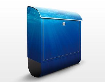 Wandbriefkasten - Arctic Sun - Briefkasten Blau
