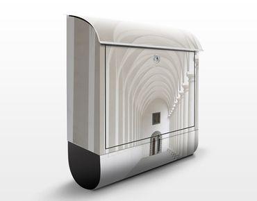 Briefkasten mit Zeitungsfach - Arkaden - Wandbriefkasten
