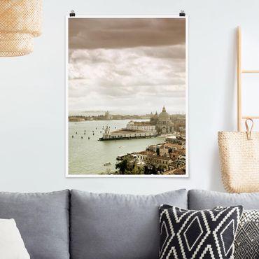 Poster - Lagune von Venedig - Hochformat 3:4