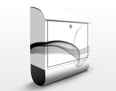 Briefkasten mit Zeitungsfach - Floater - Modern Grau