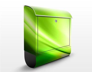 Briefkasten mit Zeitungsfach - Green Valley - Briefkasten modern grün