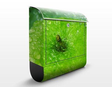 Wandbriefkasten - Green Apple - Briefkasten Grün