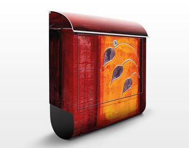 Wandbriefkasten - Memory - Briefkasten Rot