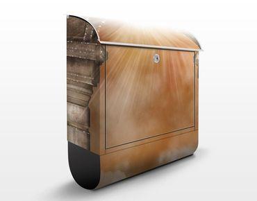 Wandbriefkasten - Himmlische Aussicht - Briefkasten Braun