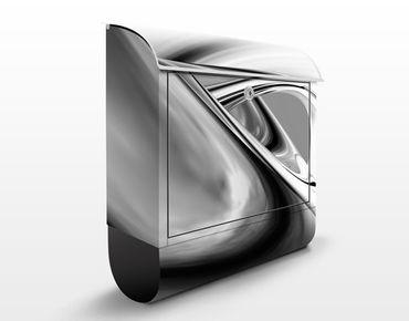 Wandbriefkasten - Drifting II - Briefkasten Schwarz