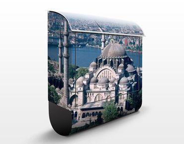 Briefkasten mit Zeitungsfach - Moschee Istanbul - Wandbriefkasten