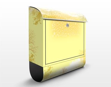 Design Briefkasten Light Autumn 39x46x13cm