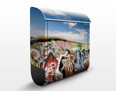 Wandbriefkasten - Paradies für Skater - Briefkasten Bunt