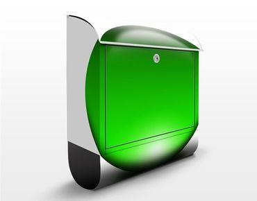 Wandbriefkasten - Magical Green Ball - Briefkasten Grün