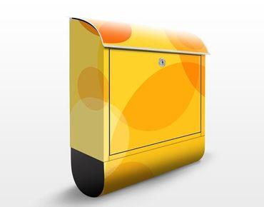 Wandbriefkasten - Caribbean Lounge - Briefkasten Gelb