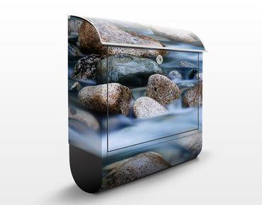 Design Briefkasten Fluss in Kanada 39x46x13cm