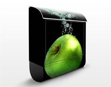 Wandbriefkasten - Fresh Splash - Briefkasten Schwarz