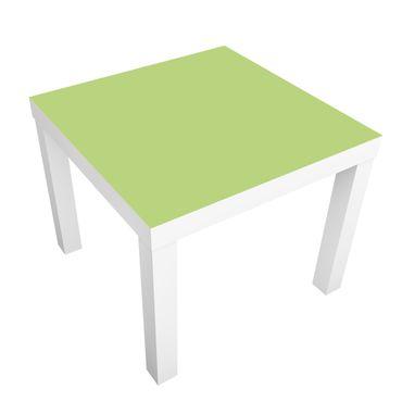 Möbelfolie für IKEA Lack - Klebefolie Colour Spring Green