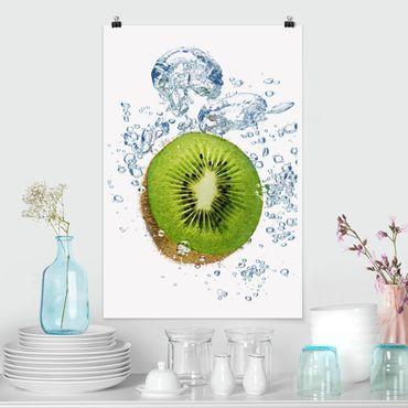 Poster - Kiwi Bubbles - Hochformat 3:2