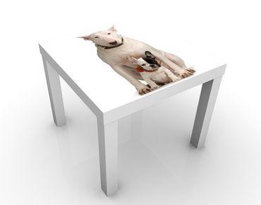 Beistelltisch - Bull Terrier And Friend