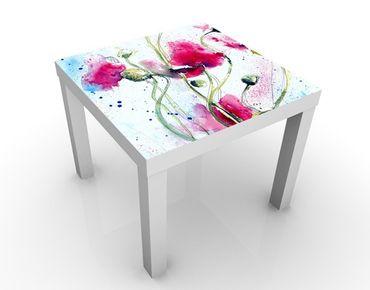 Beistelltisch - Painted Poppies
