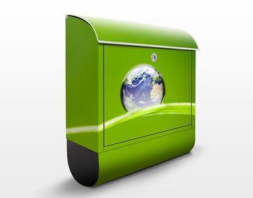 Wandbriefkasten - Grüne Hoffnung - Briefkasten Grün