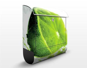 Wandbriefkasten - Splash lime - Briefkasten Grün