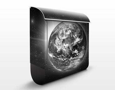 Wandbriefkasten - Weltall II - Briefkasten Grau