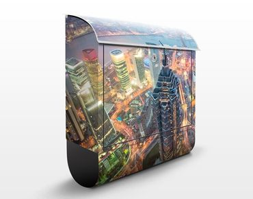 Briefkasten mit Zeitungsfach - Shanghai - Wandbriefkasten