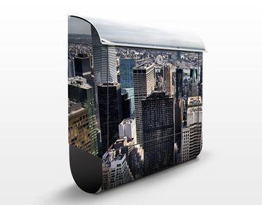 Briefkasten mit Zeitungsfach - Mitten in New York - Wandbriefkasten