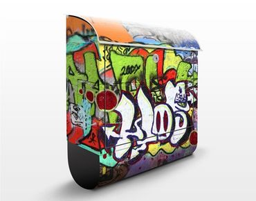 Wandbriefkasten - Graffiti - Briefkasten Bunt