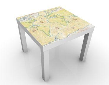 Beistelltisch - World Map