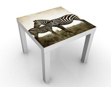 Beistelltisch - Zebrapaar