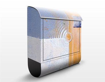 Briefkasten mit Zeitungsfach - Pastel For Your Room - Briefkasten modern