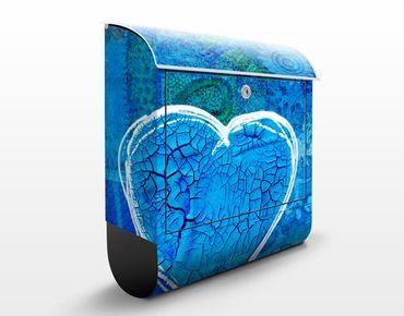 Wandbriefkasten - Terra Azura - Briefkasten Blau