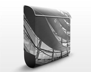 Design Briefkasten Im Berliner Reichstag II - Briefkasten Grau
