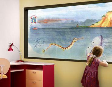 Fensterfolie - Sichtschutz Fenster Die kleine Seenadel© Steilküste - Fensterbilder