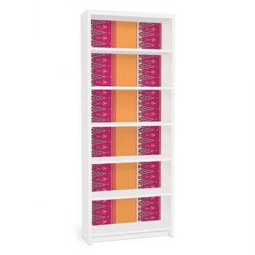 Möbelfolie für IKEA Billy Regal - Klebefolie Sommer Sari