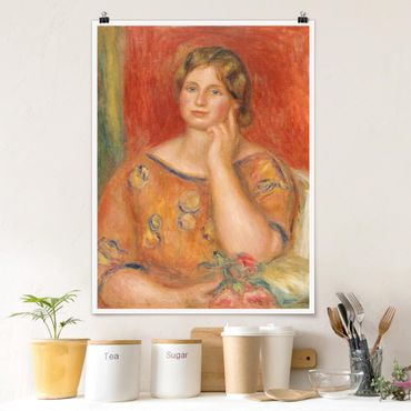 Poster - Auguste Renoir - Frau Osthaus - Hochformat 3:4