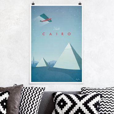 Poster - Reiseposter - Cairo - Hochformat 3:2