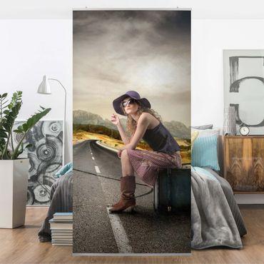 Raumteiler - On the Road 250x120cm