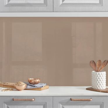 Küchenrückwand - Mocca