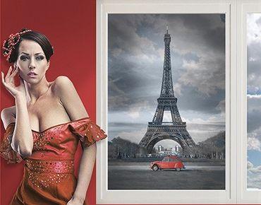 Fensterfolie - Sichtschutz Fenster Spot on Paris - Fensterbilder