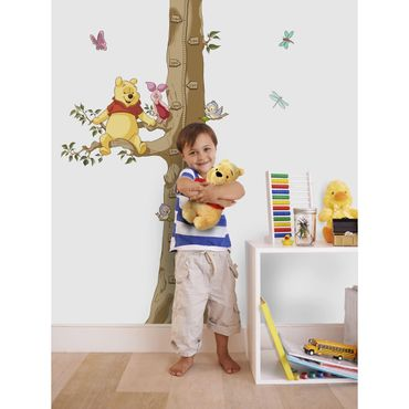 Disney Wandtattoo Kinderzimmer - Winnie The Pooh Size - Komar Deco Sticker