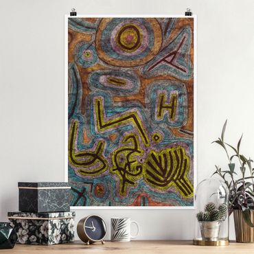 Poster - Paul Klee - Katharsis - Hochformat 3:2