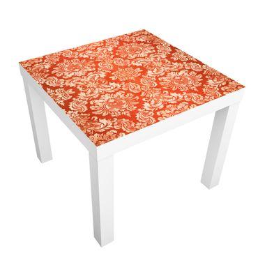 Möbelfolie für IKEA Lack - Klebefolie Barocktapete